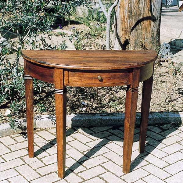 Garden+Interior★引出し付きハーフラウンドテーブル JABIS コード(35236) ガーデニング 我が家の素敵なガーデン&インテリア
