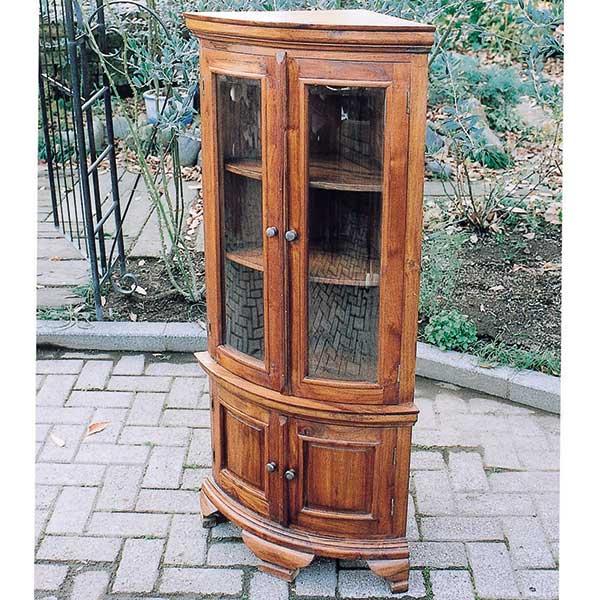 コード(35234) JABIS 1114-02 ガーデニング Garden+Interior★コーナーガラス棚 我が家の素敵なガーデン&インテリア