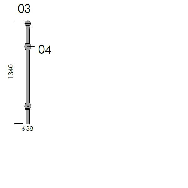 我が家の素敵なジャービス ガーデニング エクステリア JABIS コード(34150) Exterior★フレンチポール0413