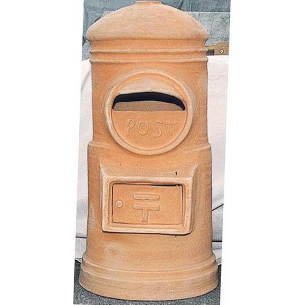 ガーデニング コード(09007) 我が家の素敵なジャービス Exterior★素焼ポスト丸型 JABIS エクステリア H900茶