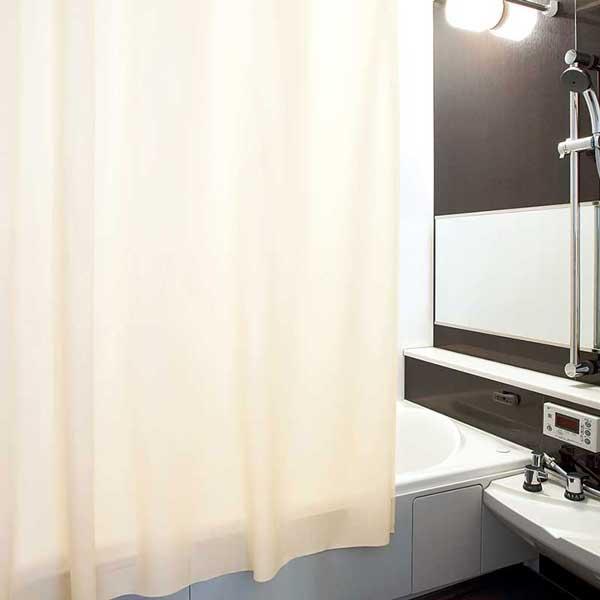 カーテン プレーンシェード リリカラ Promo プロモ Drape Modern style 遮光 P1171~P1174 シャワーカーテン 約1倍ヒダ ハトメ(9mm)仕様
