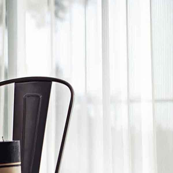 カーテン プレーンシェード リリカラ SALA LACE LS-61486 レギュラー縫製 約1.5倍ヒダ 2ツ山仕様