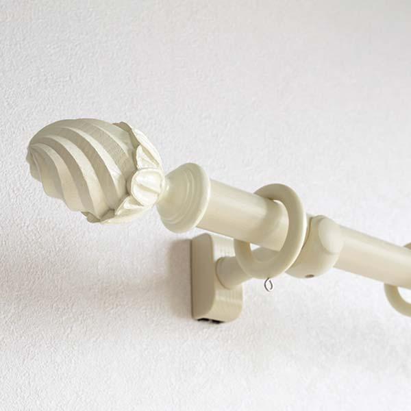 ◆装飾レール | ラグレス33 シングル Dセット 3.10m アンティークホワイト