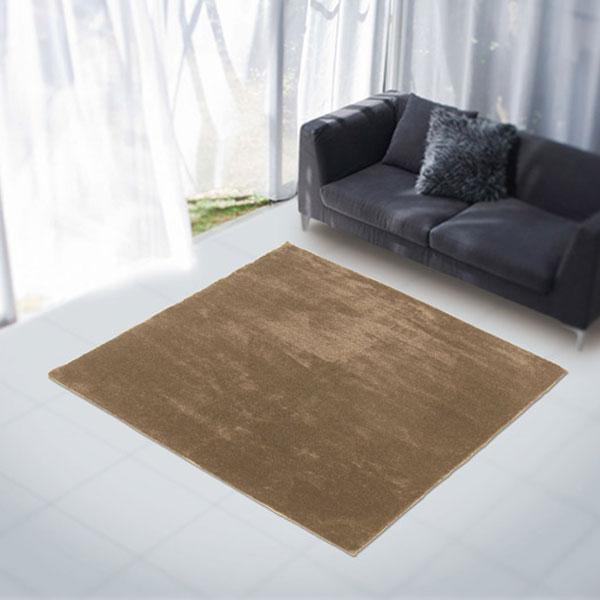 ラグ・カーペット・絨毯・マット大人気のファーラグは早いもの勝ち!アスワンラグ レッサーパンダBR(ブラウン) 140X200cm