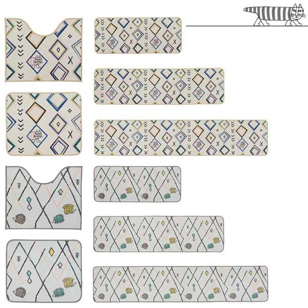 ラグ・カーペット・絨毯・マット SANITARY/サニタリー ハリネズミ 50×120cm