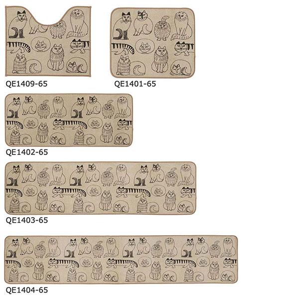 ラグ・カーペット・絨毯・マット SANITARY/サニタリー スケッチ 50×180cm