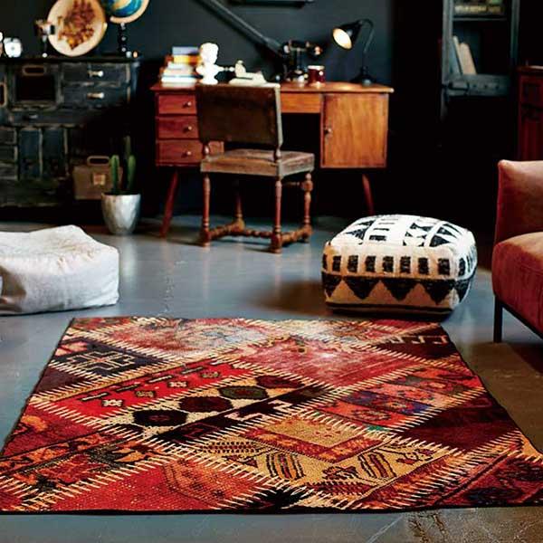ラグ マット 快適ラグ モリヨシ CHOUETTE Furniture Collection ホットカーペットカバー対応 日本製 Bella ベラ 約140×200cm