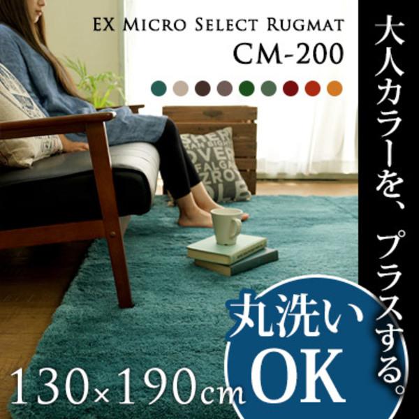 【送料無料】EXマイクロセレクトラグマット CM200 130×190cm