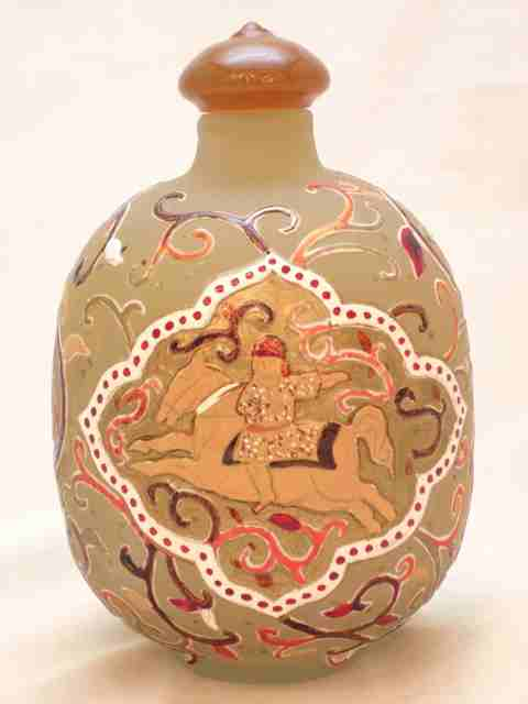 騎馬人物香水瓶
