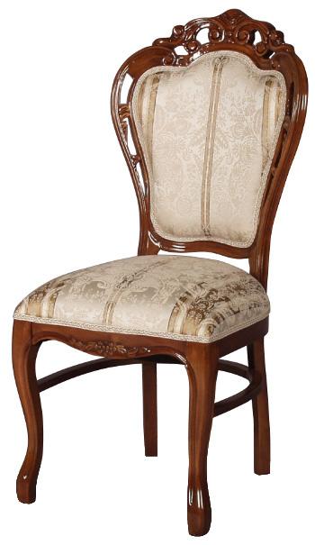フィオーレ ダイニングチェア 【送料無料】 木製 布張り チェア sa-c-1734-b4 椅子 家具 輸入家具 sac-1734-b4 sac-1734b4 いす イス ロココ 姫系 Fiore