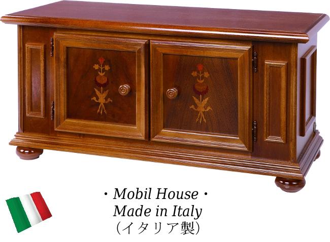 モビルハウス ローボード 90 【送料無料】 おしゃれ 木製 完成品 収納 収納家具 SAMH-121-PI 家具 輸入家具 イタリア家具 SAMH121-PI SAMH-121PI モビリハウス