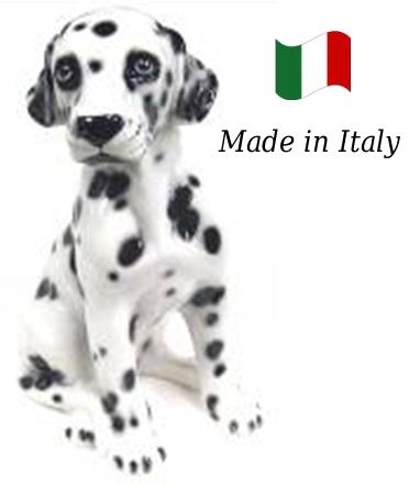 【激安アウトレット!】 ダルメシアン 置物 陶器 オブジェ h6-68da【送料無料 イヌ 犬】 イタリア 陶器 動物 雑貨 犬 イヌ, ORIGINAL PRINT CloveR:31426df0 --- rekishiwales.club