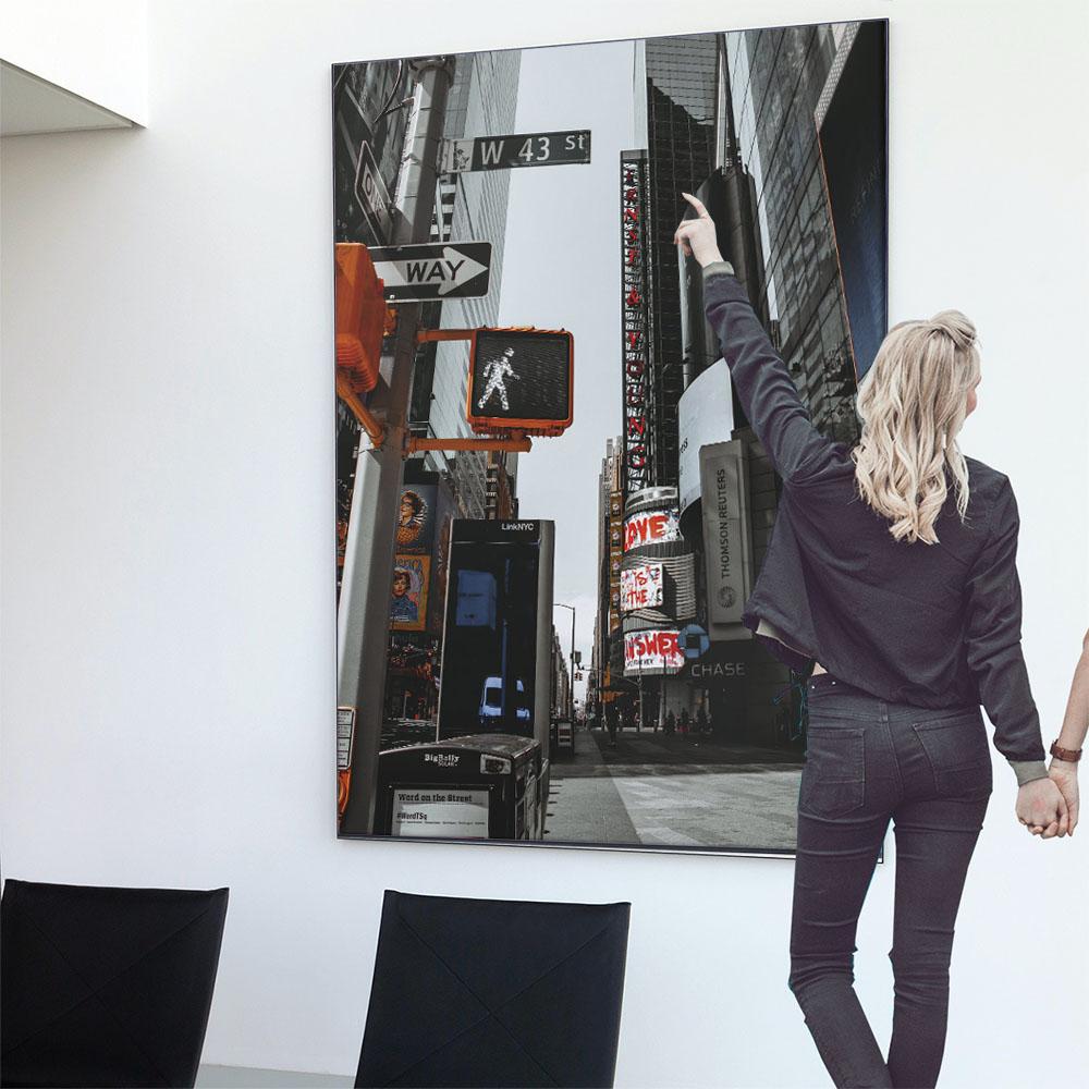 こちらのポスターはA0サイズです ポスター 特大 A0サイズ 約84x118cm 選べる用紙 大きさ 大きい 特注 インテリア おしゃれ 巨大 ビッグ 壁紙 アメリカ インダストリアル ブルックリン 高級品 道路 フィルム シンプル フォト 町 ニューヨーク NY 海外 インパクト 街 車 5☆大好評