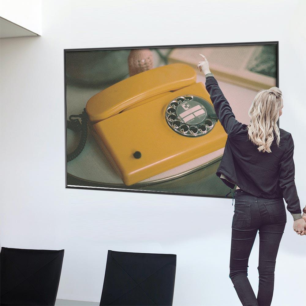 こちらのポスターはA0サイズです ポスター 特大 A0サイズ 実物 約84x118cm 選べる用紙 大きさ 大きい 特注 インテリア おしゃれ 巨大 ビッグ 壁紙 インパクト 電話 カフェ風 ウォール ヨーロッパ フォト レトロ 黄色 昭和 ヴィンテージ 韓国 ニューヨーク 期間限定送料無料 アメリカン