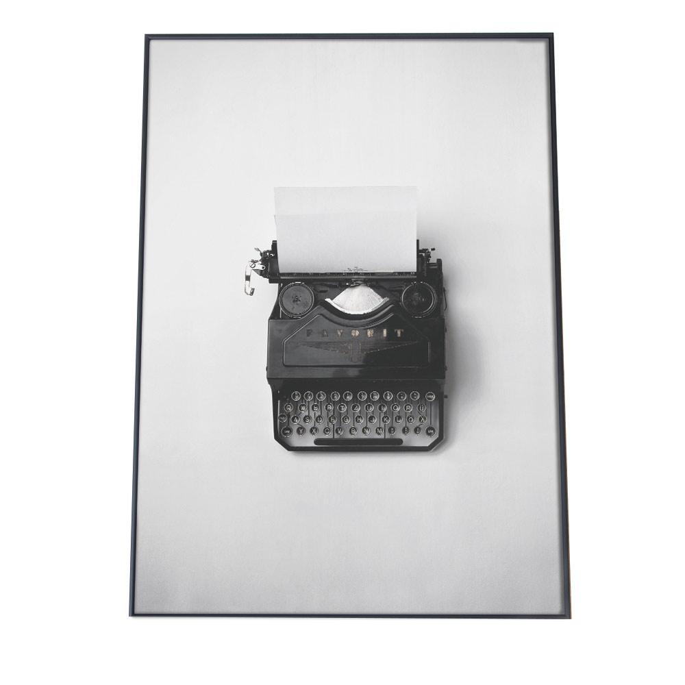 こちらのポスターはA3サイズです ポスター A3サイズ 約30x42cm 品質検査済 選べる用紙 大きさ インテリア オシャレ ファッション お洒落 アート アメリカンテイスト アメリカ 国内正規品 かわいい タイプライター アメリカン 韓国 黒 ポップ 白 ダイナー西海岸 レトロ