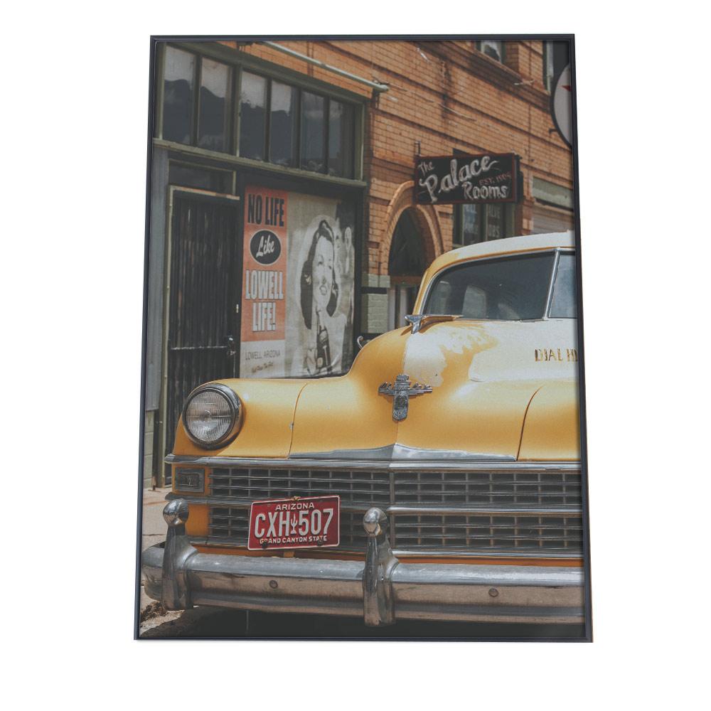 『1年保証』 こちらのポスターはB2サイズです ポスター B2サイズ 約51x73cm 選べる用紙 大きさ インテリア オシャレ ファッション おしゃれ 写真 ニューヨーク 外車 インダストリアル アメ車 ヨーロッパ 年中無休 ヴィンテージ アメリカン カフェ 外国 街並み レトロ