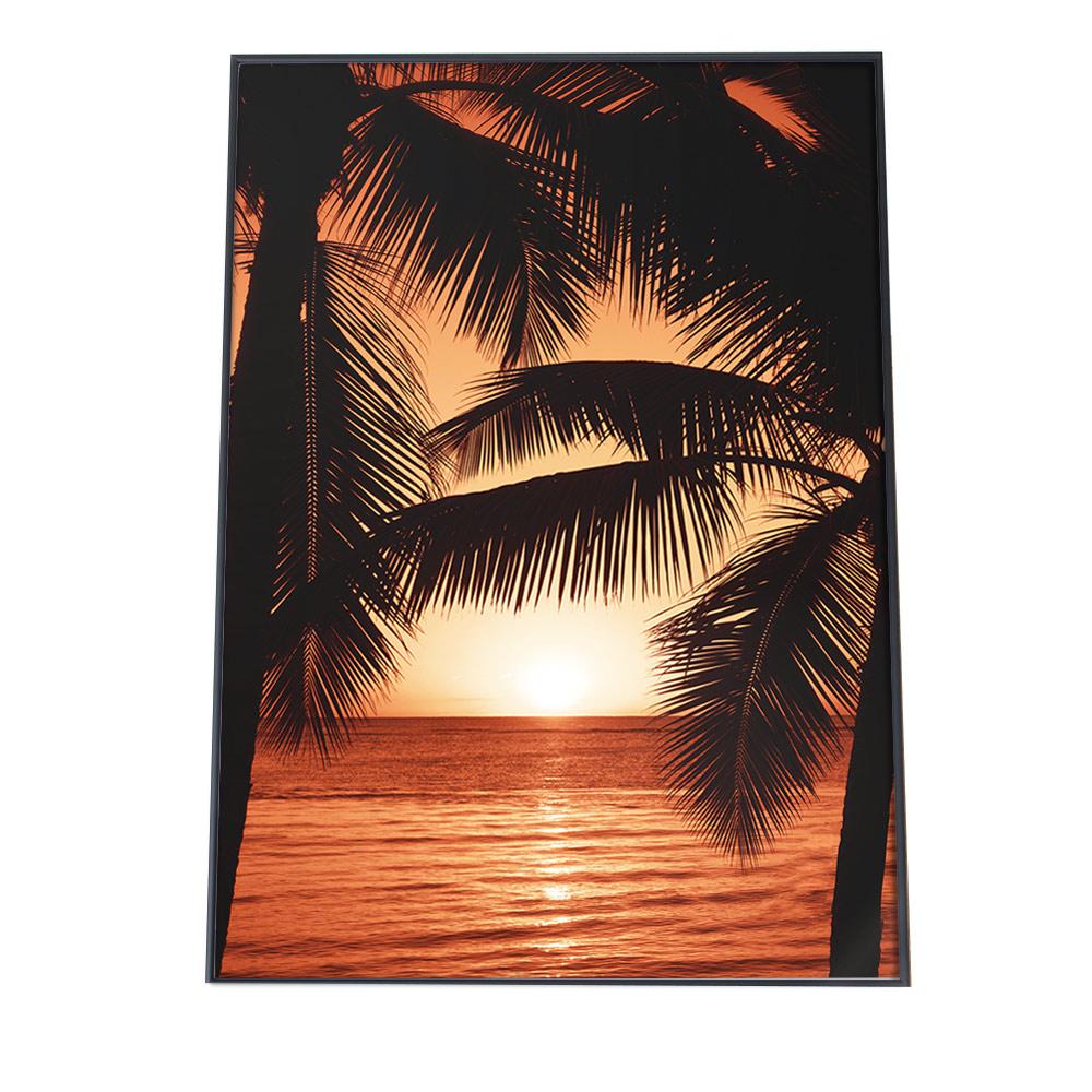 こちらのポスターはA3サイズです ポスター 限定Special Price A3サイズ 約30x42cm 選べる用紙 推奨 大きさ インテリア おしゃれ ファッション フォト オシャレ お洒落 サンセット 海 夕暮れ ハワイ 西海岸 浜辺 空 オレンジ 夏 夕日 海岸 リゾート ヤシの木 波 ビーチ サーフ