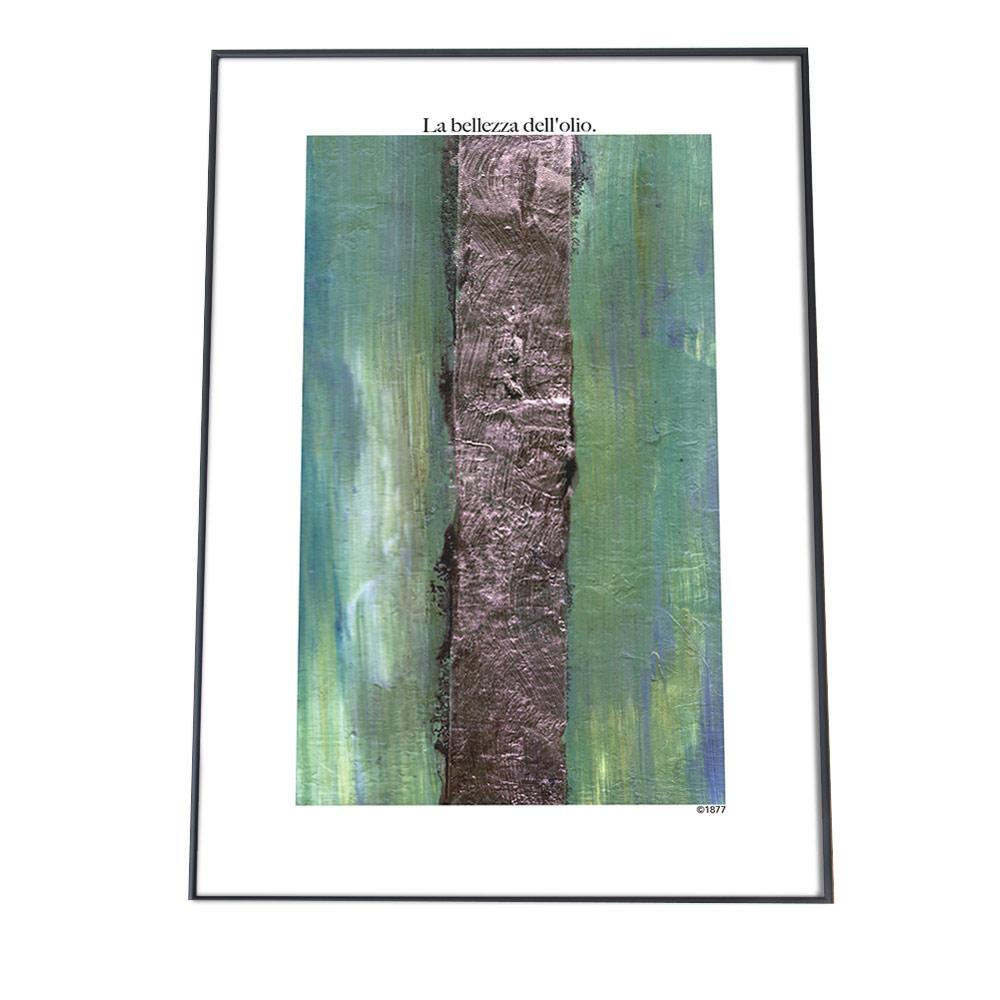 こちらのポスターはA3サイズです ポスター A3サイズ 約30x42cm 選べる用紙 大きさ インテリア おしゃれ ファッション 全国一律送料無料 モダン 絵具 緑 ランキングTOP10 北欧 絵 韓国 メッセージ グリーン 絵かわいい