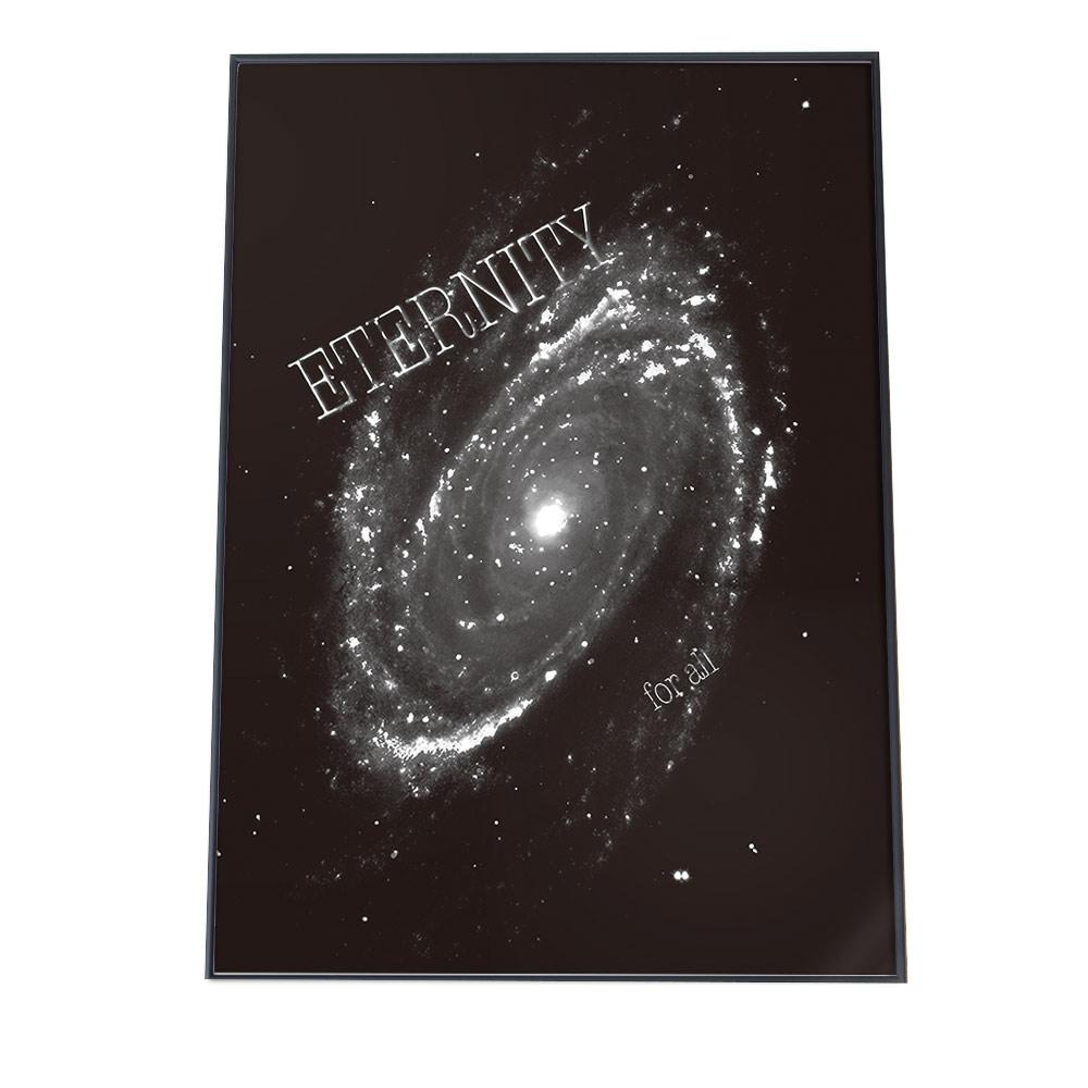 こちらのポスターはA3サイズです ポスター A3サイズ 約30x42cm 特別セール品 選べる用紙 大きさ インテリア オシャレ ファッション フォト アート モダン シンプル プラネタリウム ショッピング コスモス 夜空 お洒落 おしゃれ スペース 天文 黒 ブラック 星空 惑星 宇宙 星