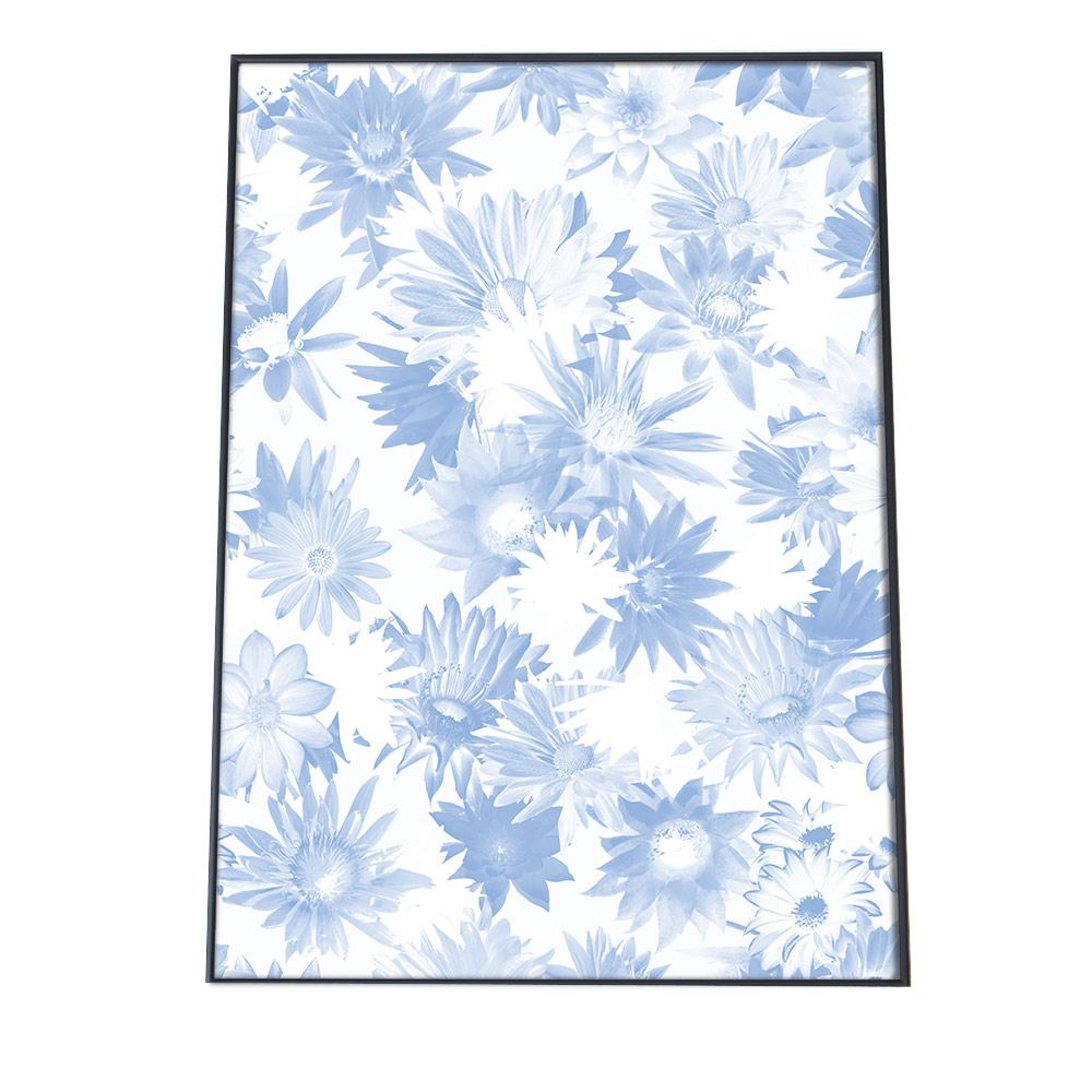 こちらのポスターはA3サイズです ポスター A3サイズ 約30x42cm 品質保証 選べる用紙 大きさ インテリア オシャレ ファッション フォト アート モダン 青 シンプル ボタニカル おしゃれ 開店記念セール ナチュラル フラワー 自然 ブルー お洒落 北欧 花