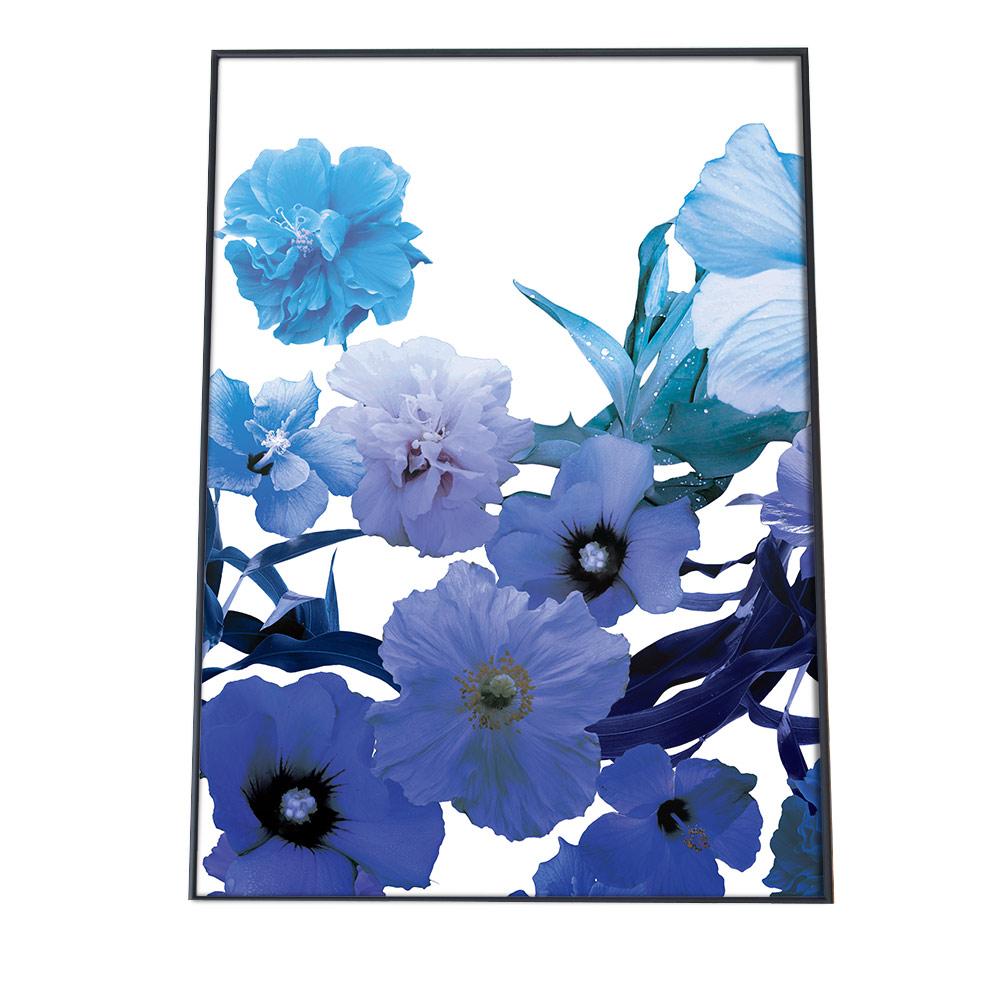 こちらのポスターはA2サイズです ポスター A2サイズ 約42x59cm 選べる用紙 大きさ インテリア オシャレ ファッション フォト アート シンプル お洒落 紫 花 ブルー メーカー在庫限り品 青 おしゃれ 今だけスーパーセール限定 むらさき パープル 自然 かわいい しずく 可愛い ボタニカル