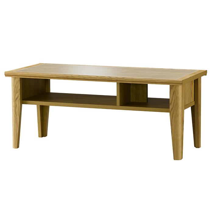 センターテーブル 木製 ガラス天板 収納付き テーブル リビング