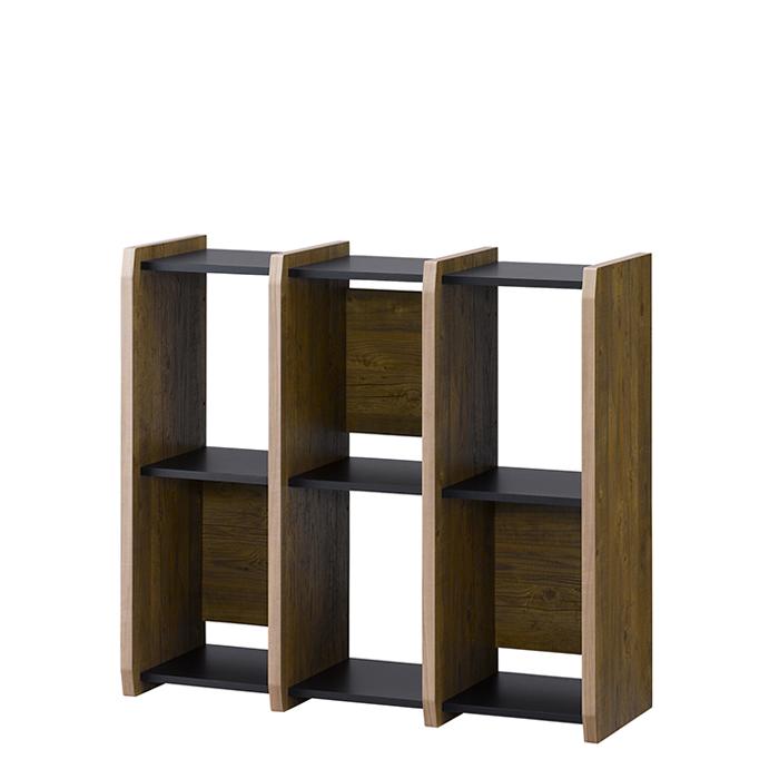 フリーラック シェルフ オープンシェルフ 本棚 壁面収納 木製 [シェルフ8090]