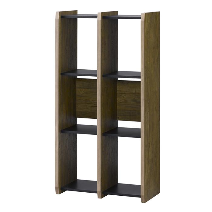フリーラック シェルフ オープンシェルフ 本棚 壁面収納 木製 [シェルフ1260]