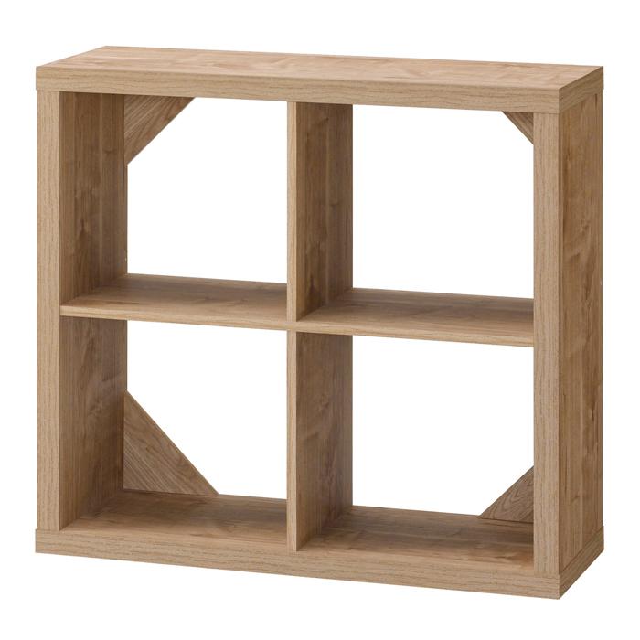 シェルフ ラック 木製 オープンシェルフ フリーラック おしゃれ 幅80