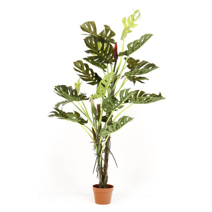 人工観葉植物 大型 フェイクグリーン インテリア 造花 お買得 9 日時指定 観葉植物 6号鉢 1限定 スプリット 全品pt5倍