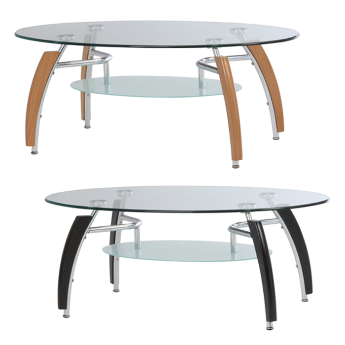 センターテーブル ガラス天板 ローテーブル おしゃれ
