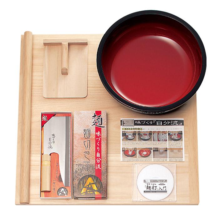 そば打ちセット 家庭用麺打セットA DVD付き 蕎麦打ち 自家製麺 新品アウトレット RCP