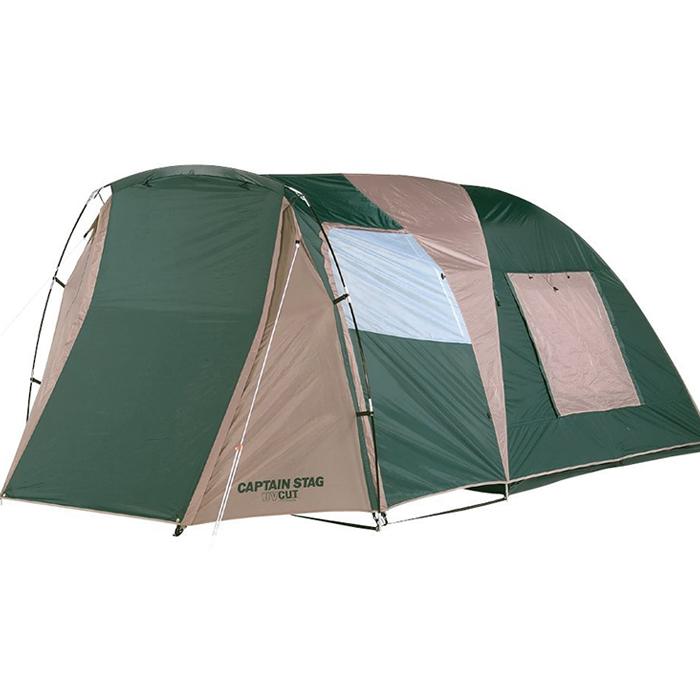 ドームテント 3~4人用 2ルーム インナーテント×1 収納バッグ付き