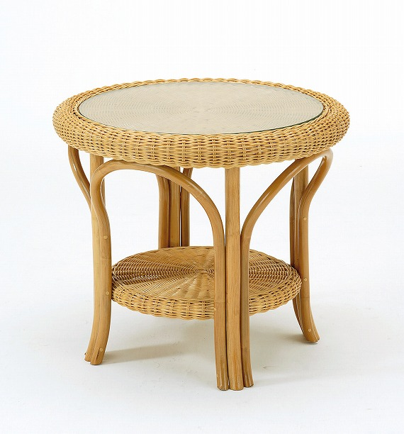 Exceptionnel  Product Size Width 600 Mm X 600 Mm X Height 530 Mm  Material: Rattan  Top  Plate Using The Reinforced Glass Is 5 Mm.  Produce Elegant Drawing On The  Curve.