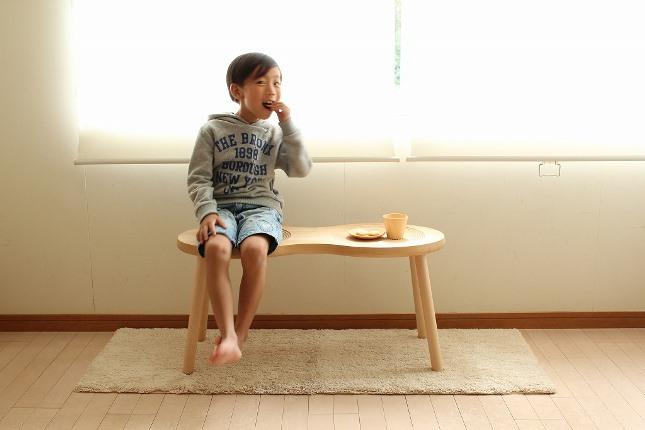 【送料無料】cosine コサイン ピーナッツスツール メープル材ST-06NM【 椅子 いす スツール 】