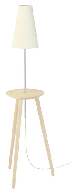 【送料無料!】cosine / コサインランプテーブル / メープルLT-01NM【照明 ランプ フロアスタンド】【木製 無垢】