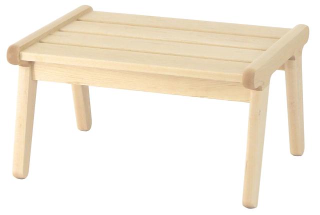 【送料無料!】cosine / コサインリビングベンチ・オットマン 本体 / メープルOT-02NM【スツール 足置き テーブル】【ハウスダスト 対策 掃除しやすい】【低い ロータイプ 木製 無垢】