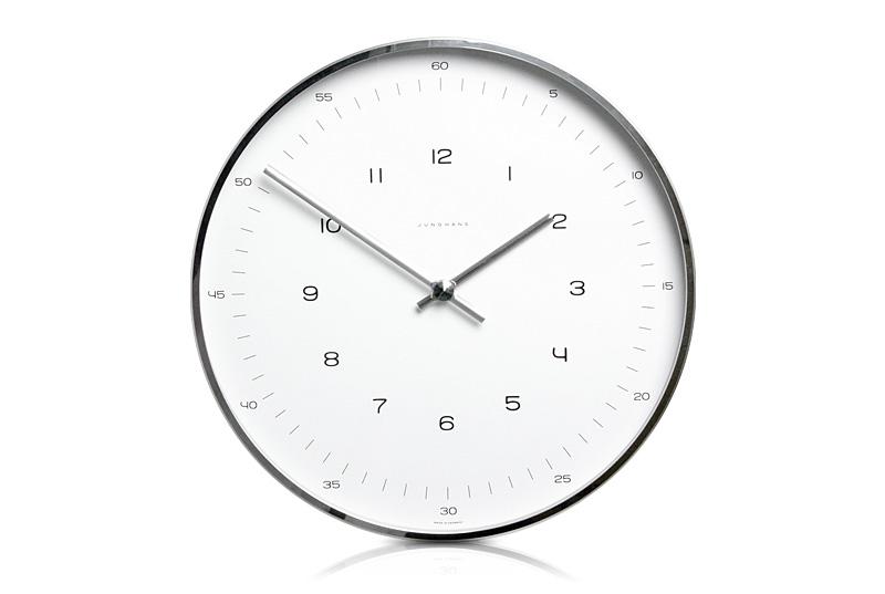 【送料無料!】Junghans / Max Bill / Wall Clock Number Dial / 1957 Φ300mmユンハンス マックス・ビル ウォールクロック ナンバーダイヤル 1957 Φ300mmMBL-03-0002(367 6047 00)【掛時計 壁掛け時計 ドイツ GERMANY】