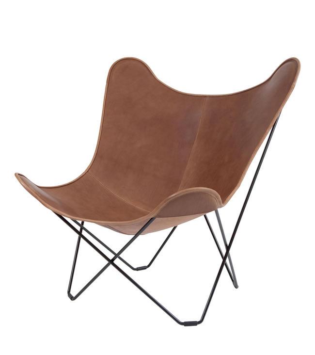 ≪送料無料!≫BKF Butterfly Chair / Mariposa / Brown LeatherBKFバタフライチェア / マリポサ / ブラウン・レザーパーソナル/リラックス/一人掛け/革/アルゼンチン/ル・コルビジェ/北欧/スウェーデン/ボネット/クルチャン/フェラーリ