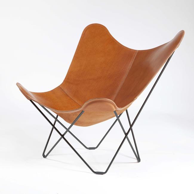 ≪送料無料!≫BKF Butterfly Chair / Pampa Mariposa / Polo-Brown LeatherBKFバタフライチェア / パンパ・マリポサ / ポロブラウン・レザーパーソナル/リラックス/一人掛け/革/アルゼンチン/ル・コルビジェ/北欧/スウェーデン/ボネット/クルチャン