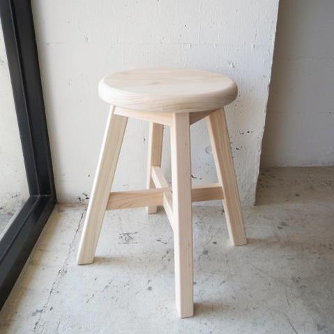 SUGIKOUJOU / SHOKUDOU CHAIR杉工場 / 食堂椅子 丸スツール/椅子/木製/シンプル/素朴/天然木/おしゃれ/北欧