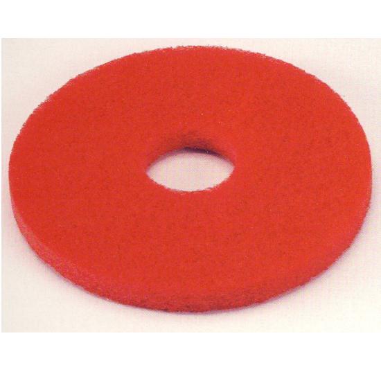ポリッシャー用 商品 宅配便送料無料 床のツヤ出し 代引き不可 保守用パット P-8用 1つ 336-593 赤色