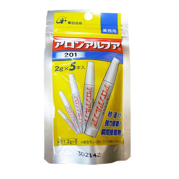 東亜合成 アロンアルファ201 10g(2g×5本) 25本