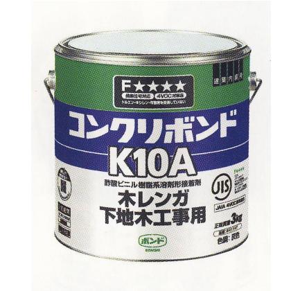 コニシ コンクリート・木材 接着剤 K10A 3kg 6缶