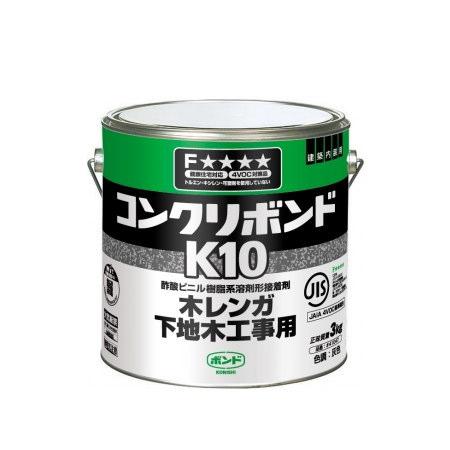 コニシ コンクリボンド K10 3kg 6缶
