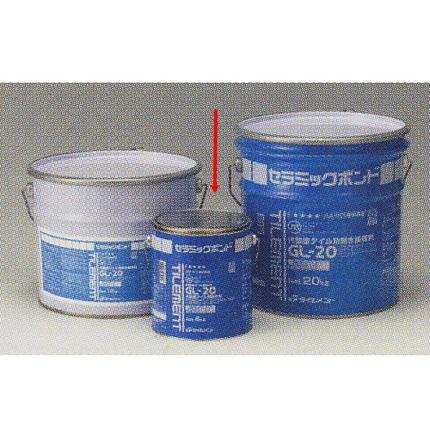 タイルメント GL-20 タイル張り用接着剤 4kg 6缶