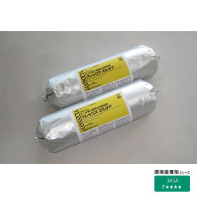 タイルメント タイル張り用弾力性接着剤 フレックスマルチF 2kg 9本