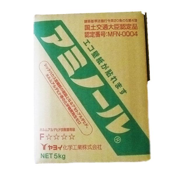 壁紙用接着剤 エコ系壁紙が貼れます ヤヨイ化学 アミノール 数量は多 5kg 高品質新品