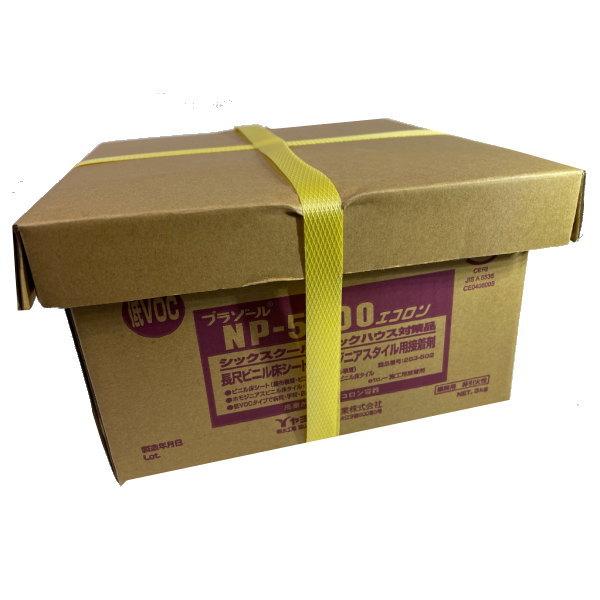 ビニル床やカーペット用の接着剤 ヤヨイ化学 床糊プラゾール NP5000 好評受付中 283-502 エコロン 未使用 3kg