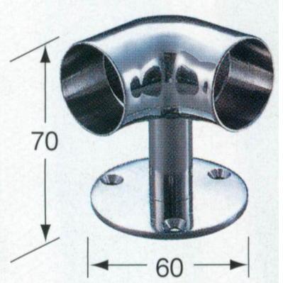 アシスト ハート・ブラケット(90°) No.66-906 φ32mm